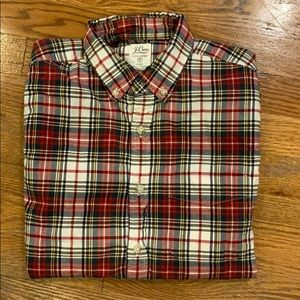 J. Crew Slim Plaid Casual Button Down